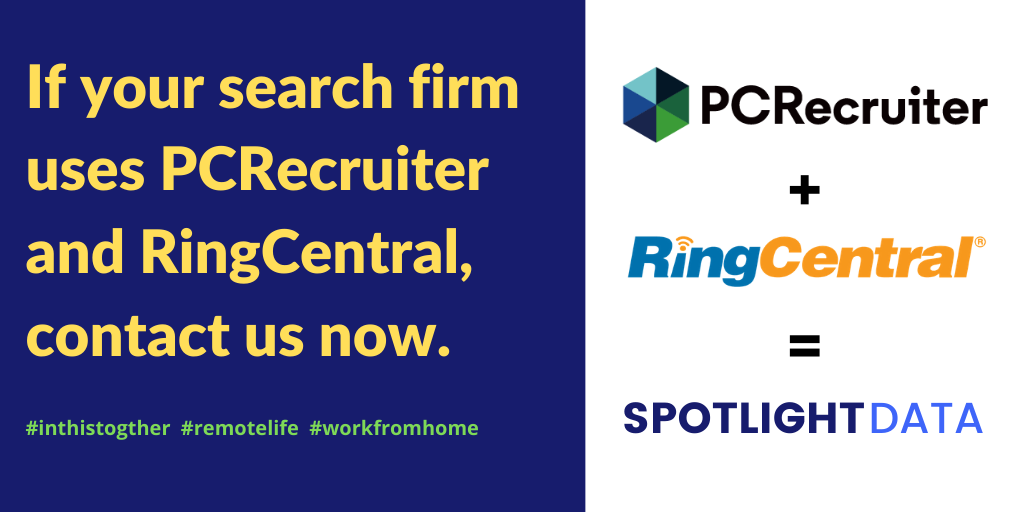 PCRecruiter and RingCentral