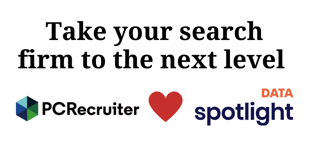 Take your search firm to the next level with PCRecruiter + Spotlight Data