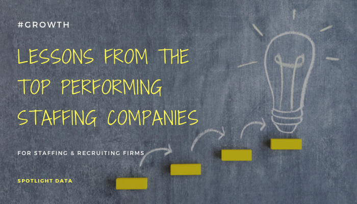 How top-performing staffing firms do what they do