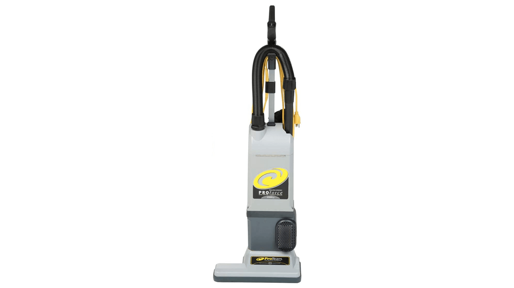 ProTeam ProForce 1500XP Bagged Upright Vacuum Cleaner with HEPA Media Filtration, Commercial Upright Vacuum with On-Board Tools