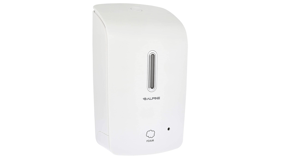 Alpine Wall Mountable, Touchless, Universal Foam Soap Dispenser for Offices
