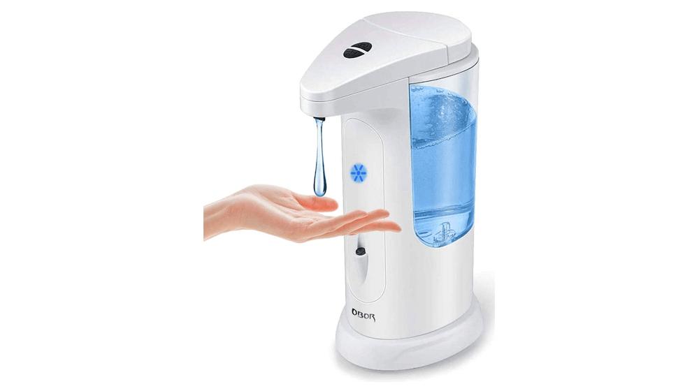 OBOR Automatic Soap Dispenser Touchless Smart Infrared Sensor Auto Soap Dispenser Hands-Free for Home