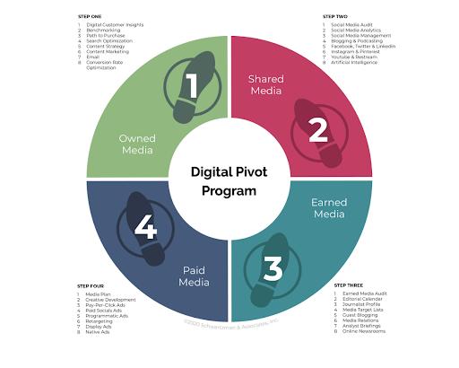 The Digital Pivot Framework Process Eric Schwartzman